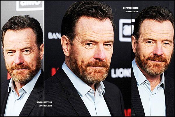 """. Bryan Cranston au AMC's """"Mad Men"""" Season 5 Premiere le 14 mars ."""