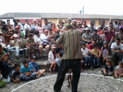 El circulo en la Antigua