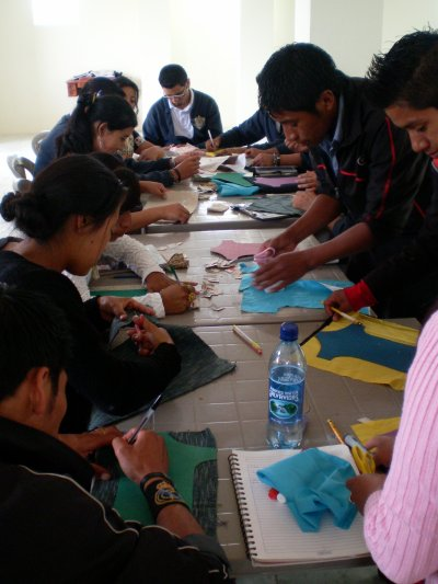 Empieza el taller en Santa Cruz del Quichè