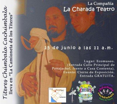 Cierre de la expo en Panajachel