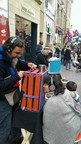 Chùmbala Cachùmbala en el Festival Mundial de Marionetas (Francia)