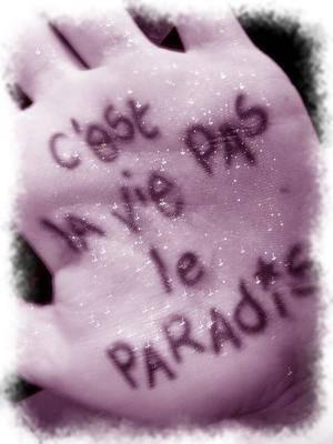 0o0...La vie c est pas .... Le paradiz...0o0