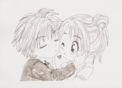 dessin manga couple
