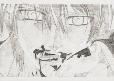 dessin manga bisou