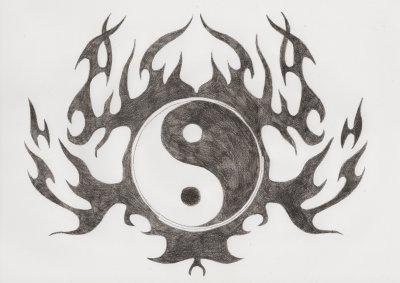 dessin manga tatouage