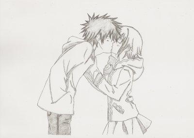 Couple Dessins De Manga