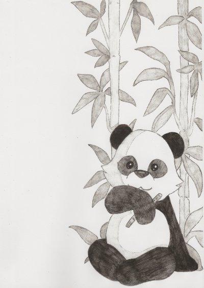 Petit panda dessins de manga - Coloriage petit panda ...