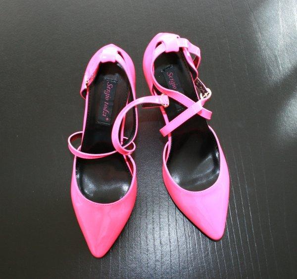Mes nouveaux escarpins fushia