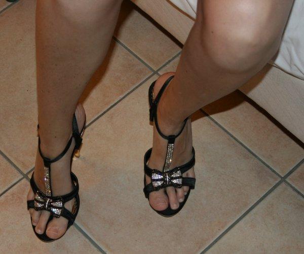 Mes Sandales aux pieds