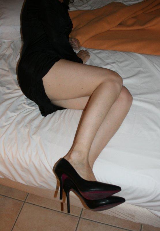 Escarpins Noir, offert par mon mari
