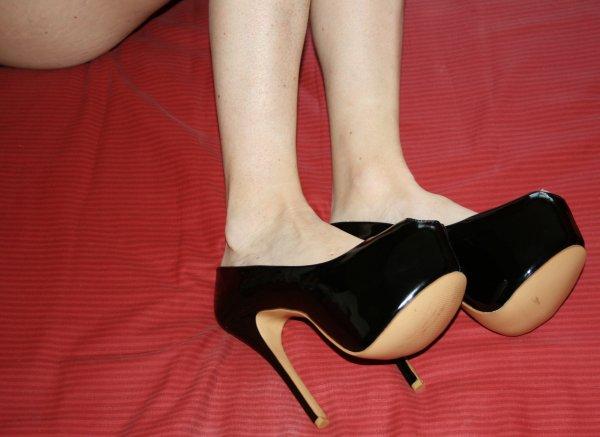 Mes nouveau Escarpin aux pieds
