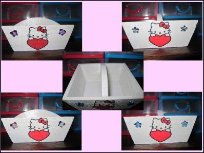 Petit panier Hello Kitty