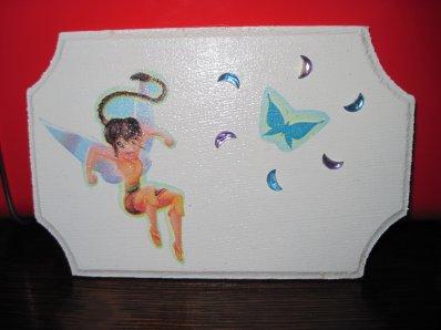 Décoration murale Fée (Fée Clochette)