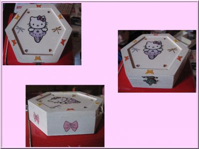 Boite à bijoux Hello Kitty danseuse