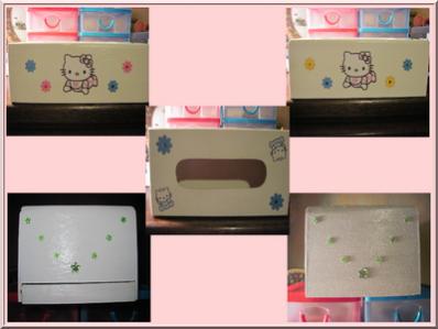 Boite à mouchoirs Hello Kitty Baby