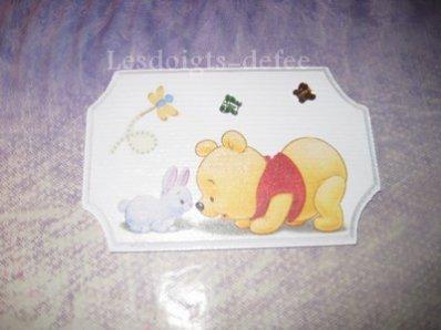 Décoration murale Winnie Baby