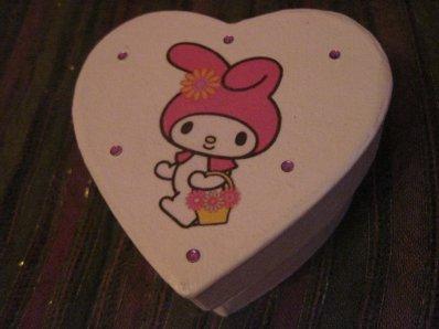 Boite coeur Hello Kitty
