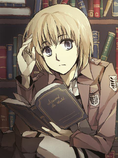 Armin et les livres