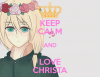 Keep Calm and love Christa