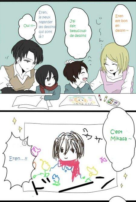 Doujin : Les dessins d'Eren