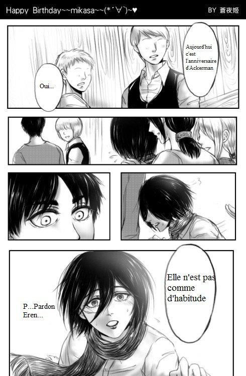 Joyeux Anniversaire Mikasa
