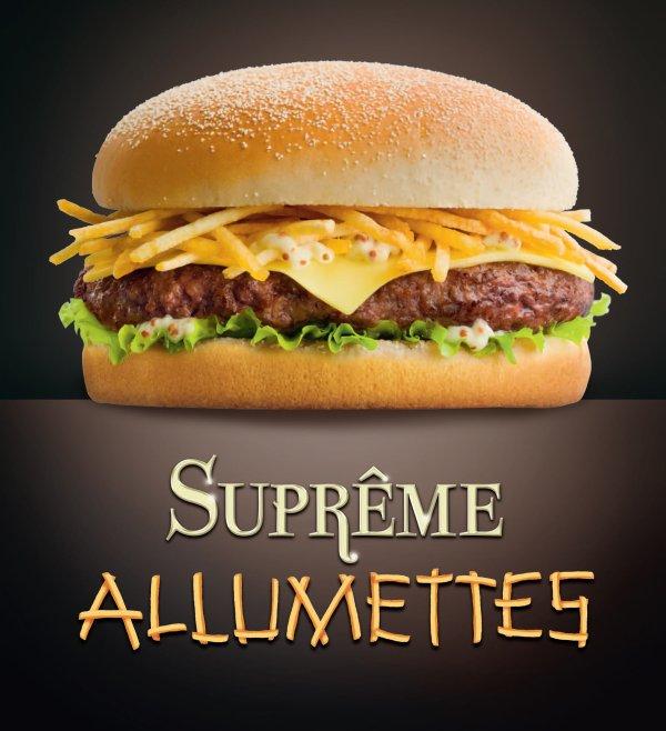 Suprême Allumettes