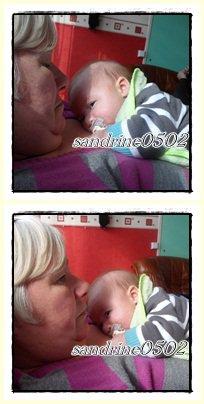 ma mere et mom neveu matheo