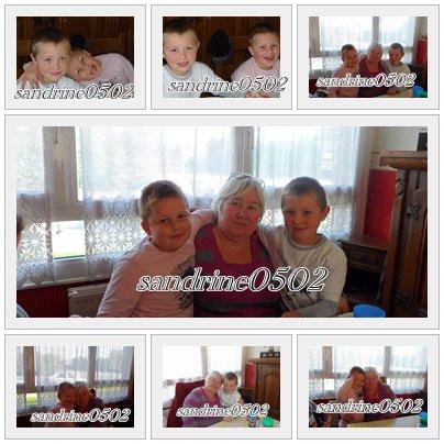 ma mere ,mom fils et mom neveu bryan