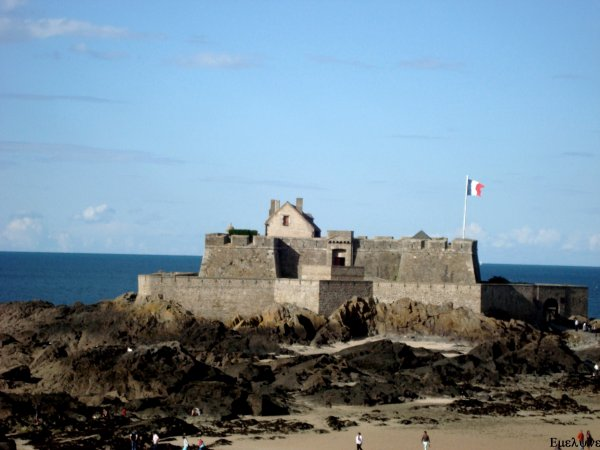 Le fort de chateaubriand !