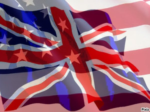 my 2 favorite country of the United States and England $) $) mes deux prèfrèrè pays