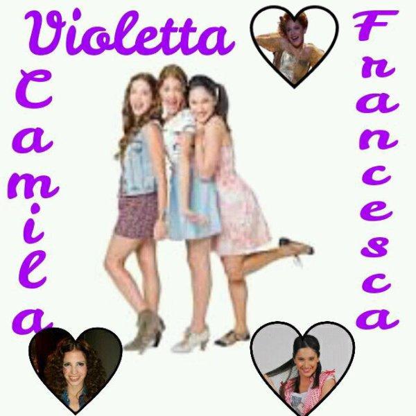 Amitié Violetta-Francesca-Camila
