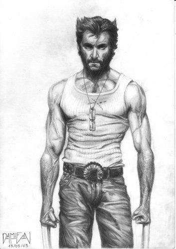 Blog de zack38220 page 2 mes dessins - Wolverine dessin ...