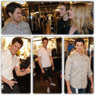 Katerina Graham a ssisté à l'anniversaire de Perez Hilton + Steven McQueen était au Armani Exchange + les photos de la convention EyeCon