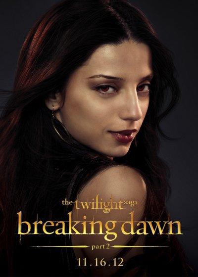 Personnages - Twilight - Révélation Partie Deux