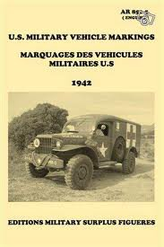 us military vehicule markings 1942