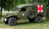 DODGE WC 54 AMBULANCE        SUR BASE DE DECOUPE