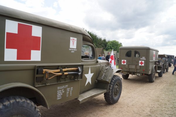 NORMANDIE D-DAY   2014       AMBULANCE WC 54