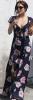 In diesem Sommer schöne Mode Druck geblümten Kleid