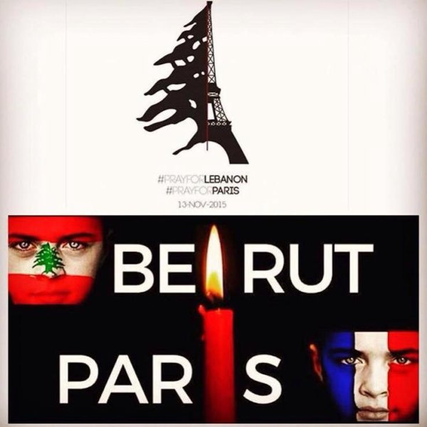 Pray for Lebanon, Pray for Paris