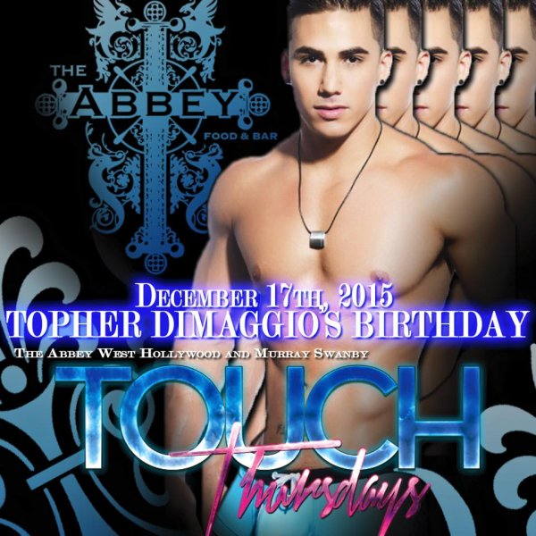 Happy Birthday Topher : 30 years old