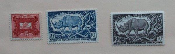 AFRIQUE EQUATORIALE FRANCAISE