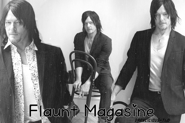 ♦ Darylicious-TWD. Normaan Reedus ♥ Photoshoot pour Flaunt Magazine.