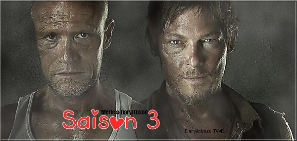 Darylicious-TWD. Normaan Reedus ♥ The Walking Dead Saison 3.