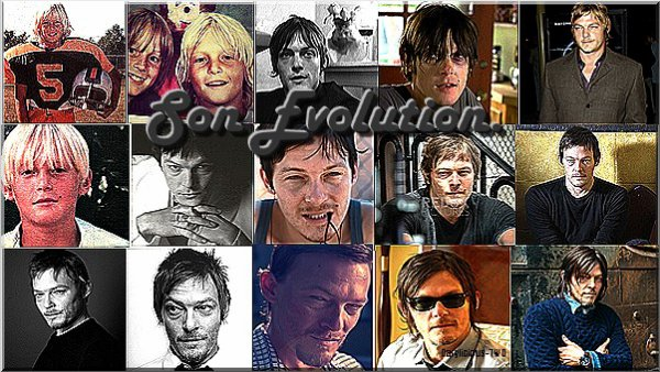 Darylicious-TWD. Normaan Reedus ♥ Son Evolution.