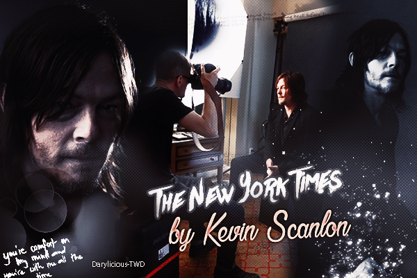 ♦ Darylicious-TWD. Normaan Reedus ♥ Photoshoot The New York Times By Kevin Scanlon. (2016)