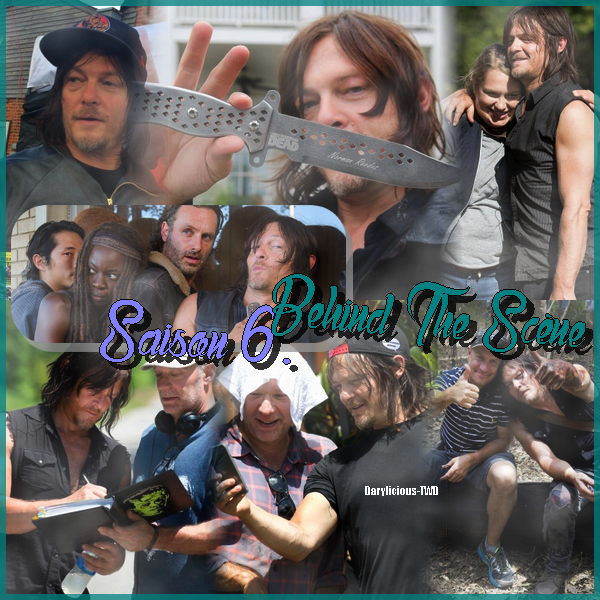 Darylicious-TWD. Normaan Reedus ♥ Behind The Scène, Saison 6 - The Walking Dead.