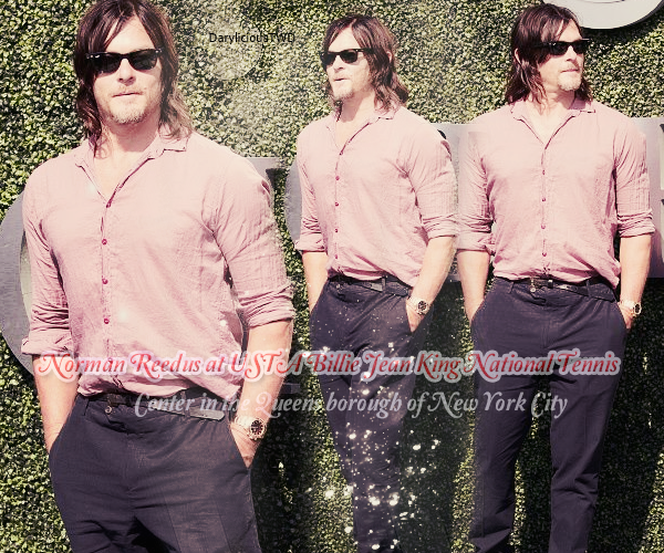 Darylicious-TWD. Normaan Reedus ♥ NEWS SEPTEMBRE 2016.