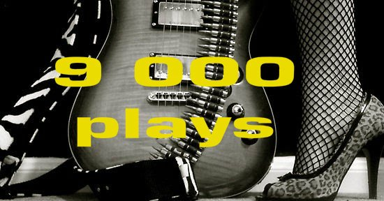 https://youtu.be/-sx5qy6vxqo  Blues one: 9 000 plays... <3