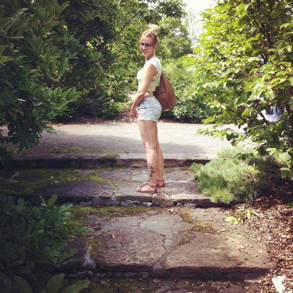 Outside :)