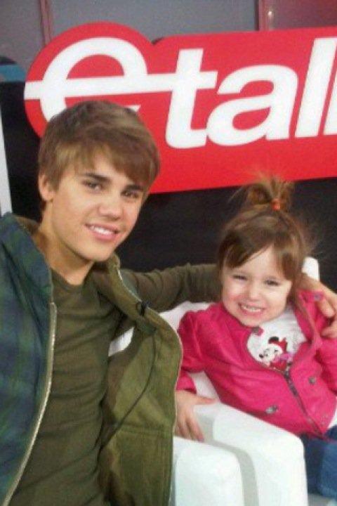 Justin et sa petite soeur jasmyn